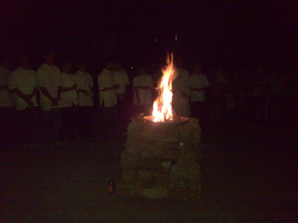 Blessing of the Flame