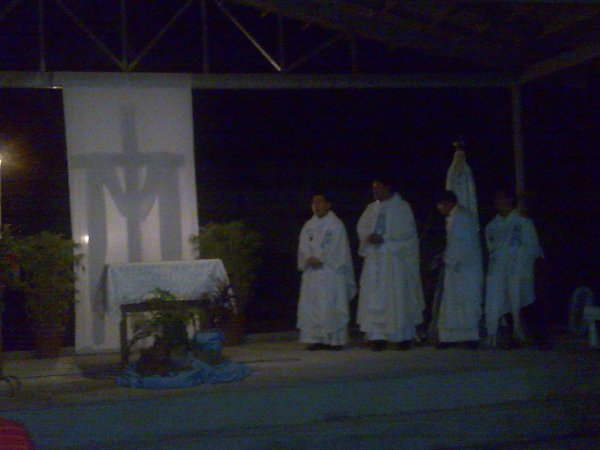 Concelebrated Mass with Frs. Mike, Randy and Lawrence