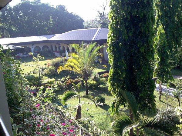 Center Garden (a shot from the Retreat House)