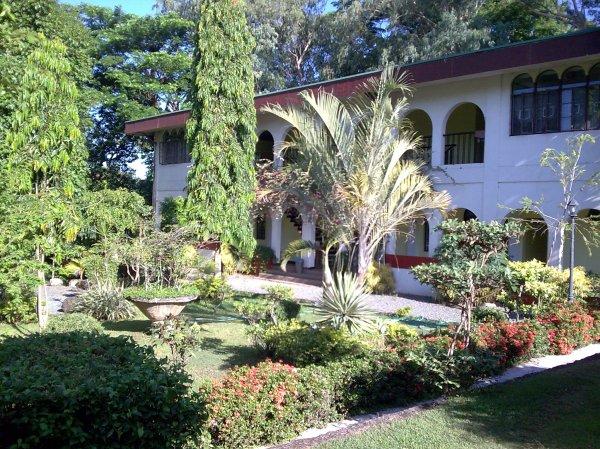 The Retreat House (a shot from the Center Garden)