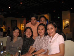 With Joy, Dette, Linda, Jason and Eric
