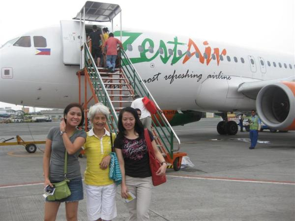 Just landed Kalibo airport... pictorial agad!