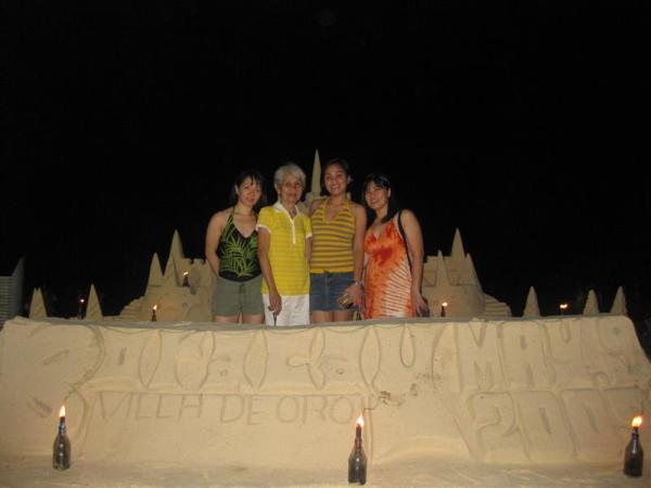 Gemma, Mudra, moi and Judith