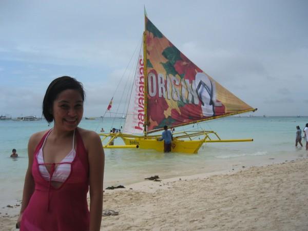Full-fledged Boracay and Havaianas addict!