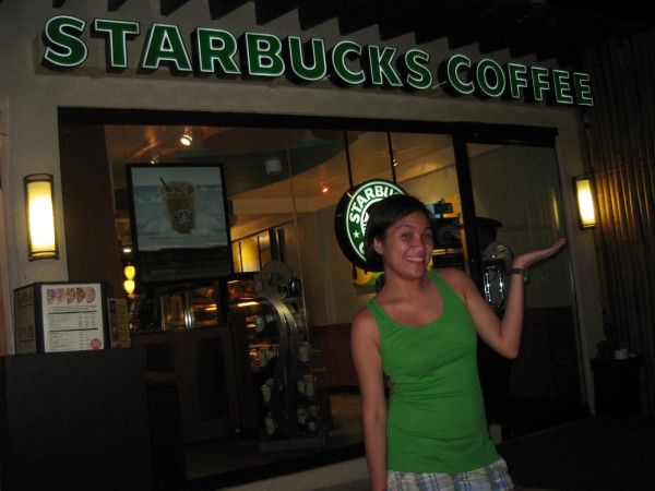 Oh yes, Bora has already been invaded by Starbucks!