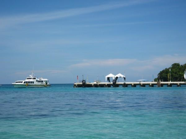 Boracay Island Dock Port (not the right term, pauso ko lang yan!)