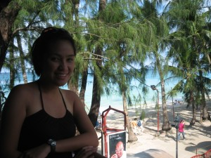 Overlooking the beach naman... hehehe!