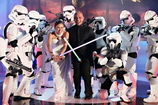 The Star Wars Wedding (Tiger and Issa)